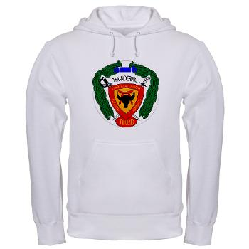 3B4M - A01 - 03 - 3rd Battalion 4th Marines - Hooded Sweatshirt