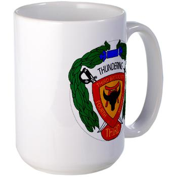 3B4M - M01 - 03 - 3rd Battalion 4th Marines - Large Mug