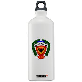 3B4M - M01 - 03 - 3rd Battalion 4th Marines - Sigg Water Bottle 1.0L