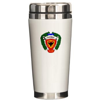 3B4M - M01 - 03 - 3rd Battalion 4th Marines Ceramic Travel Mug