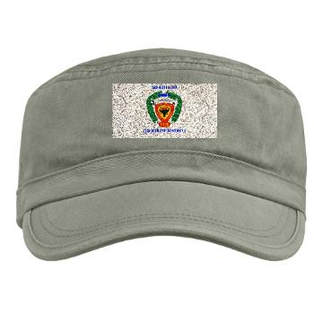 3B4M - A01 - 01 - 3rd Battalion 4th Marines with Text Military Cap