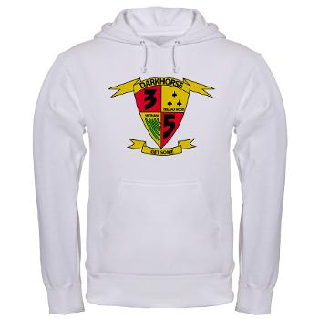 3B5M - A01 - 03 - 3rd Battalion 5th Marines - Hooded Sweatshirt