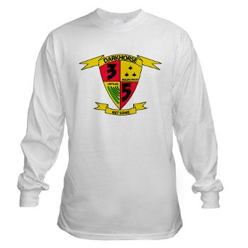 3B5M - A01 - 03 - 3rd Battalion 5th Marines - Long Sleeve T-Shirt