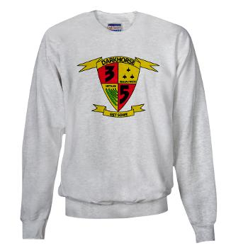 3B5M - A01 - 03 - 3rd Battalion 5th Marines - Sweatshirt