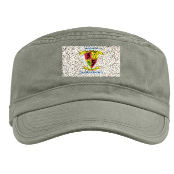 3B5M - A01 - 01 - 3rd Battalion 5th Marines with Text - Military Cap