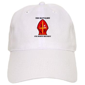 3B8M - A01 - 01 - 3rd Battalion - 8th Marines with Text Cap