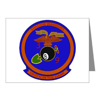 3B9M - M01 - 02 - 3rd Battalion - 9th Marines - Note Cards (Pk of 20)