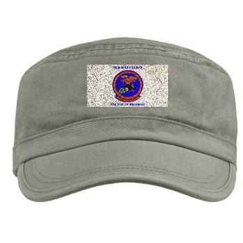 3B9M - A01 - 01 - 3rd Battalion - 9th Marines with Text - Military Cap