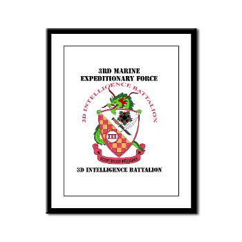 3IB - M01 - 02 - 3rd Intelligence Battalion - Framed Panel Print