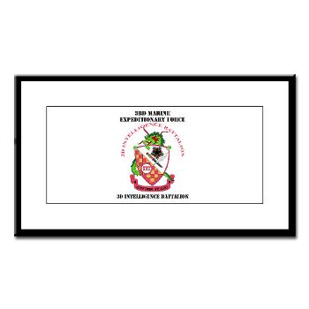 3IB - M01 - 02 - 3rd Intelligence Battalion - Small Framed Print