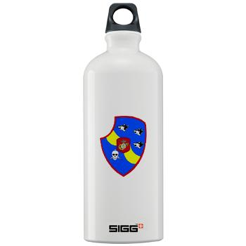3LARB - M01 - 03 - 3rd Light Armored Reconnaissance Bn Sigg Water Bottle 1.0L