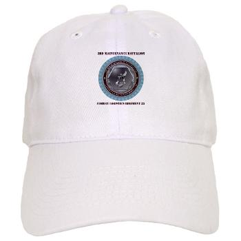 3MB35 - A01 - 01 - 3rd Maintenance Battalion with Text Cap