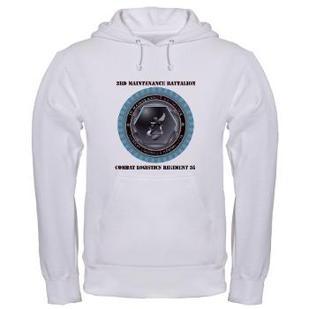3MB35 - A01 - 03 - 3rd Maintenance Battalion with Text Hooded Sweatshirt