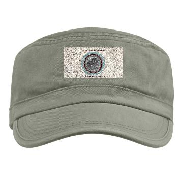 3MB35 - A01 - 01 - 3rd Maintenance Battalion with Text Military Cap