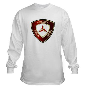 3MD - A01 - 03 - 3rd Marine Division - Long Sleeve T-Shirt