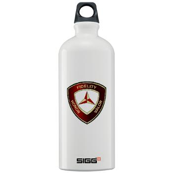 3MD - M01 - 03 - 3rd Marine Division - Sigg Water Bottle 1.0L