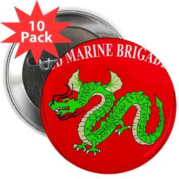 "3MEB - M01 - 01 - 3rd Marine Expeditionary Brigade 2.25"" Button (10 pack)"