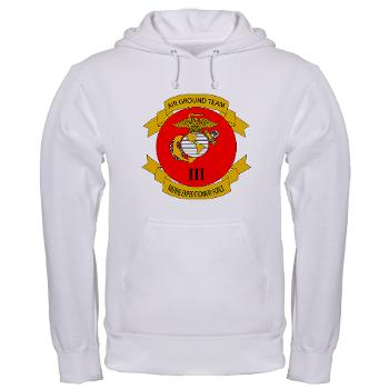 3MEF - A01 - 03 - 3rd Marine Expeditionary Force with Text- Hooded Sweatshirt