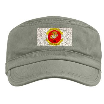 3MEF - A01 - 01 - 3rd Marine Expeditionary Force with Text- Military Cap