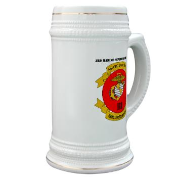3MEF - M01 - 03 - 3rd Marine Expeditionary Force with Text- Stein