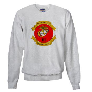 3MEF - A01 - 03 - 3rd Marine Expeditionary Force with Text- Sweatshirt