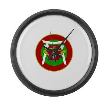 3MLG - M01 - 03 - 3rd Marine Logistics Group - Large Wall Clock