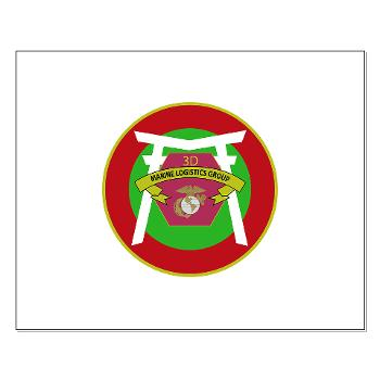 3MLG - M01 - 02 - 3rd Marine Logistics Group - Small Poster