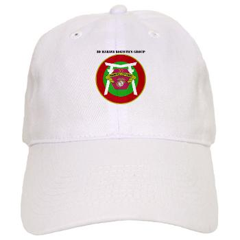 3MLG - A01 - 01 - 3rd Marine Logistics Group with Text - Cap