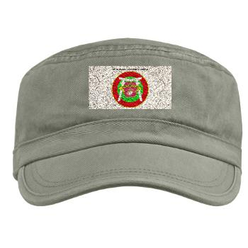 3MLG - A01 - 01 - 3rd Marine Logistics Group with Text - Military Cap