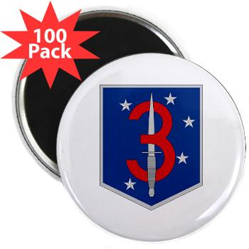 "3MSOB - M01 - 01 - 3rd Marine Special Operations Battalion - 2.25"" Magnet (100 pack)"