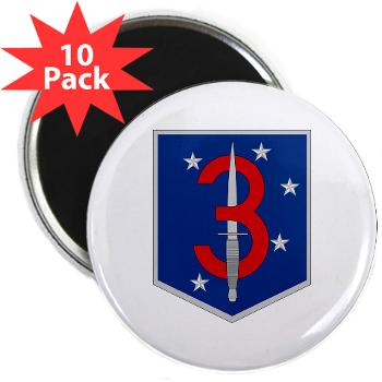 "3MSOB - M01 - 01 - 3rd Marine Special Operations Battalion - 2.25"" Magnet (10 pack)"