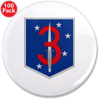 "3MSOB - M01 - 01 - 3rd Marine Special Operations Battalion - 3.5"" Button (100 pack)"