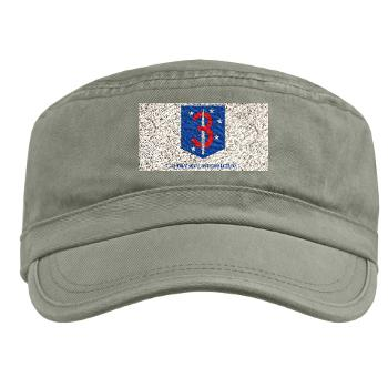3MSOB - A01 - 01 - 3rd Marine Special Operations Bn with Text - Military Cap