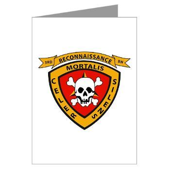 3RB - A01 - 01 - 3rd Reconnaissance Battalion - Greeting Cards (Pk of 10)