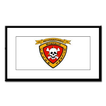 3RB - A01 - 01 - 3rd Reconnaissance Battalion - Small Framed Print