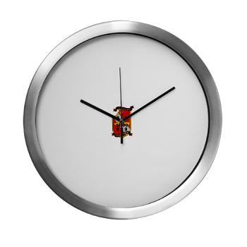 4LARB - M01 - 03 - 4th Light Armored Reconnaissance Battalion - Modern Wall Clock