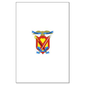 4MRHC - M01 - 02 - Headquarters Company - 4th Marine Regiment - Large Poster
