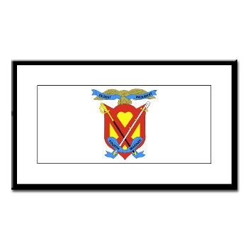 4MRHC - M01 - 02 - Headquarters Company - 4th Marine Regiment - Small Framed Print