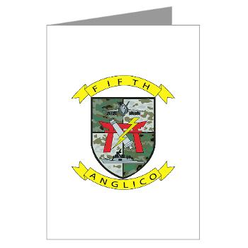 5ANGLC - M01 - 02 - 5th Air Naval Gunfire Liaison Company - Greeting Cards (Pk of 20)