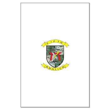 5ANGLC - M01 - 02 - 5th Air Naval Gunfire Liaison Company - Large Poster