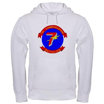 7CB - A01 - 03 - 7th Communication Battalion - Hooded Sweatshirt