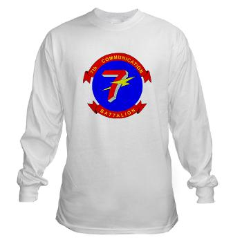 7CB - A01 - 03 - 7th Communication Battalion - Long Sleeve T-Shirt
