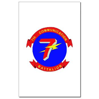 7CB - M01 - 02 - 7th Communication Battalion - Mini Poster Print
