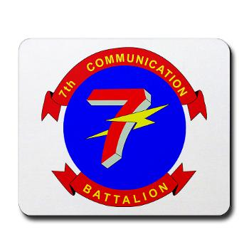 7CB - M01 - 03 - 7th Communication Battalion - Mousepad