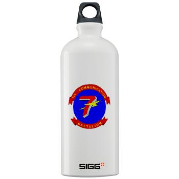 7CB - M01 - 03 - 7th Communication Battalion - Sigg Water Bottle 1.0L