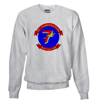 7CB - A01 - 03 - 7th Communication Battalion - Sweatshirt