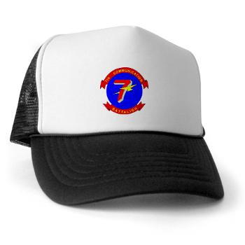 7CB - A01 - 02 - 7th Communication Battalion - Trucker Hat