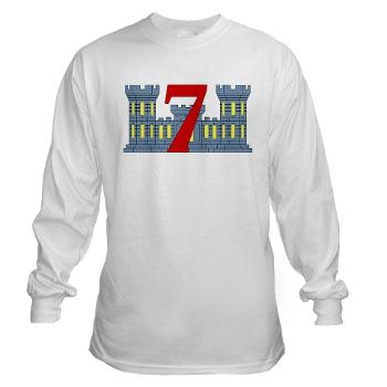 7ESB - A01 - 03 - 7th Engineer Support Battalion - Long Sleeve T-Shirt