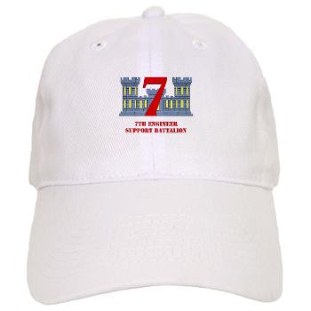 7ESB - A01 - 01 - 7th Engineer Support Battalion with Text - Cap