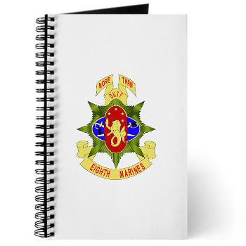 8MR - M01 - 02 - 8th Marine Regiment - Journal